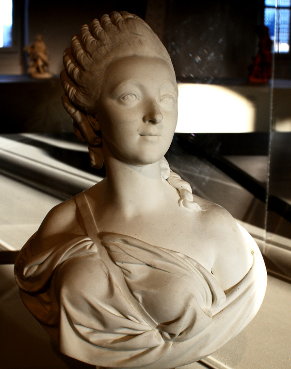 Madame du Barry. Augustin Pajou.