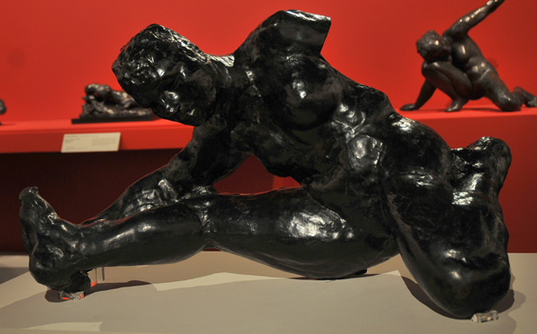 Femme accroupie. Auguste Rodin