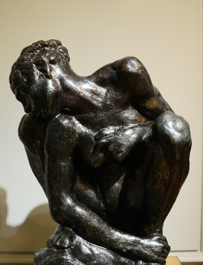 Femme accroupie. Auguste Rodin.