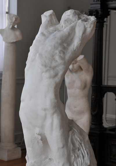Narcisse. Auguste Rodin.