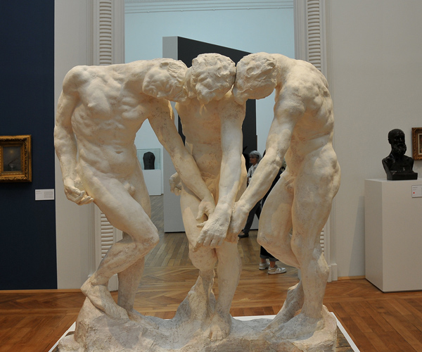 Trois Ombres. Auguste Rodin.