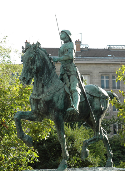 Jeanne d'Arc. Paul Dubois.