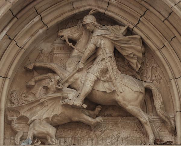 C'est la Saint Georges Dufraine_saint-georges-dragon_ELy