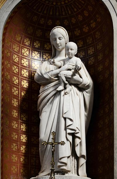 Vierge et l'enfant. Denis Foyatier.