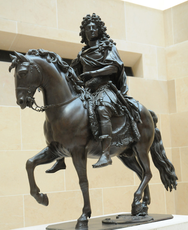 Louis XIV. Girardon.