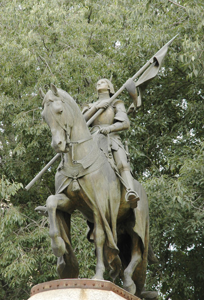 Jeanne d'Arc. Antonin Mercié.