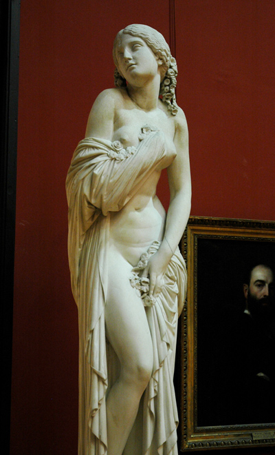 Chloris et Zéphyr. James Pradier.